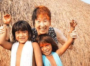 特定非営利活動法人 熱帯森林保護団体(RFJ : Rainforest Foundation Japan)南研子