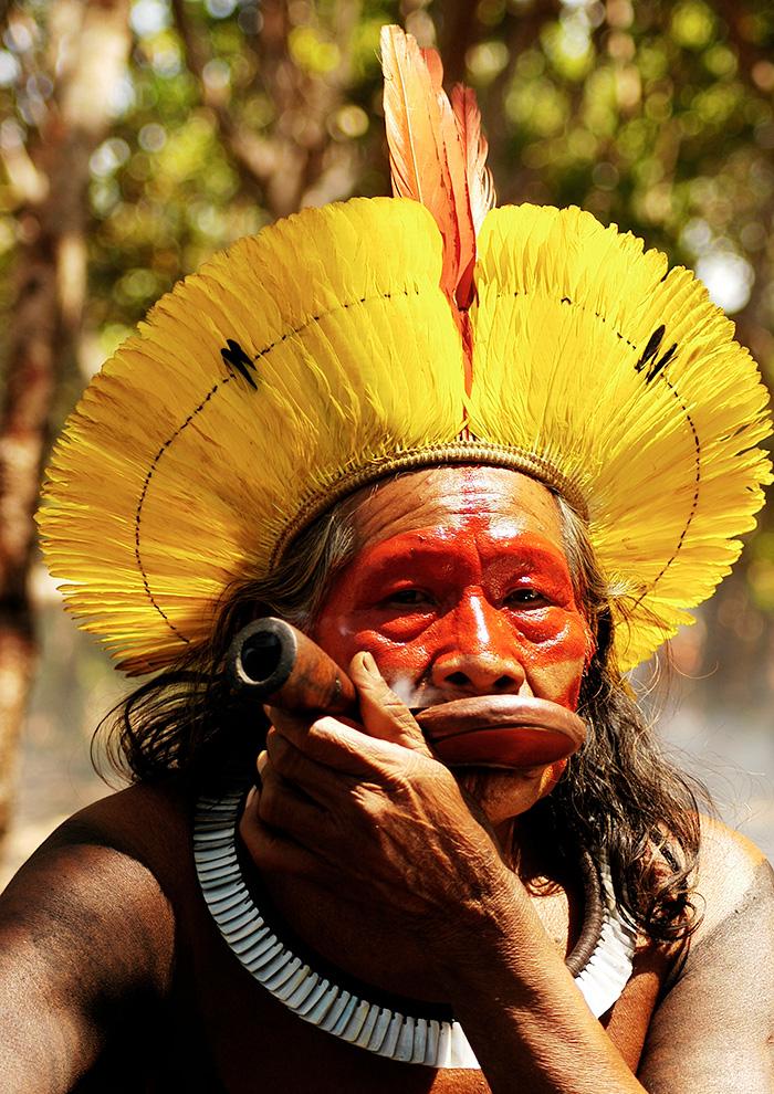 カヤポ民族大長老 ラオーニ・メトゥティレ